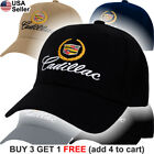 Cadillac Logo Cap GM CTS Escalade XTS SRX ATS ELR Emblem Embroidered Hat Caddy