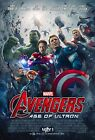 THE AVENGERS 2 AGE OF ULTRON Movie Poster Marvel Comics Iron Man Hulk Thor