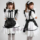 2015 Cosplay Palace Sexy Black Beer Lolita Maid Outfit Costume Party apron Set