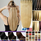 One Piece High Quality 100% Remy Human Hair Extensions Clip In Party Show Q292