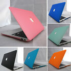 "Rubberized Matte Frosetd Hard Case Cover Skin for Apple MacBook Air 11.6"" 13.3"""