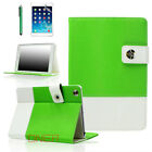 For Apple iPad 2 3 4 Generations - Hybrid Premium Leather Smart Case Green