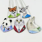 New Cartoon Wooden Animal Necklace Delicate Hip Hop Wood Necklace Gift Fashion