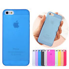 Cool Transparent HARD SLIM 0.3MM Ultra thin BACK CASE COVER SKIN FOR iPHONE 5 5S