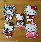 Iron on - Hello Kitty #1 - different Design - Embroidered Patch - Applique
