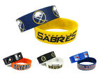 NHL Hockey Silicone Rubber Bracelet Wristband 2 Pcs - Pick Team $3.15 USD on eBay