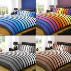 Solo Stripes Stripey Bands Gradient Bright Duvet Cover Quilt Bedding Set