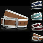 P-827 Fangle 2015 Men Genuine Leather Waist Stylish Fashion Belt Free Shipping