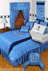 North Carolina Tar Heels Comforter Bedskirt Sham Valance Twin to King Size