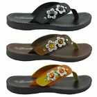 New Womens Gladiator Style Sandals Comfortable Sets Of Toe Flat Shoes HAPPY-04