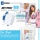 NEENAH TRANSFER PAPER JET PRO SS LIGHT FABRICS SHEETS World-Paper