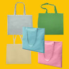 Custom Printed Cotton Shopper Bag - Long Handles - Your Personal Design!
