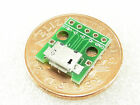 Micro USB 5 Pin Female SMD Type B Extension PCB 2.54mm Adapter Board #Z36