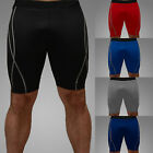 Mens Compression Tights Shorts Base Layer Fitness Gym Pants Sports Running