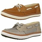 Ladies Caterpillar Luster Casual Lace Up Shoes