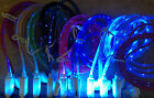 Lot LED LIGHT 3ft glow data sync charger cables FOR apple  iphone 6 plus 5 5s 5c