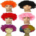 CURLY CLOWN FUNKY AFRO WIG Unisex FANCY DRESS LADIES 70S DISCO MENS COLOUR PARTY