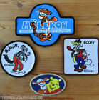 1 - Iron/Sew on Patch - Cartoons - different Styles - Retro Style - Applique