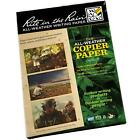 20 x Sheets *NEW* Rite in the Rain (RITR) All-Weather Laser   Copier A4 Sheets!