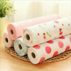 300cm Cute Polka Dots Shelf Contact Paper Kitchen Table Cabinet Drawer Liner Mat