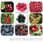 BERRIES CUSTOM MOUSE PAD GARDEN PERSONALIZED PHOTO FAMILY MOUSEPAD  (BM-01)