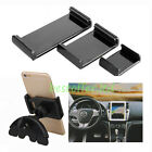 Car CD Slot Holder Mount For iPad&mini Nexus 7 9 Samsung Tablet Tab 5-10 Phone