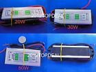 20W 30W 50W AC/DC12-24V TO DC 30-36V LED Waterproof Power Supply Driver Light