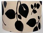 "Prestigiouse ""FLIRT"" Black and Cream Leaf Lampshade"