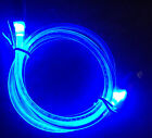 GLOW LED Light 3ft data sync charger cable FOR micro USB android smart phones
