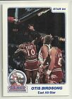 Otis Birdsong 1984 Star Company All Star Game New Jersey Nets Card #3