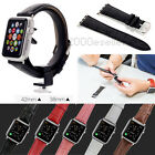 New Genuine Leather Watch Band Strap for Apple Watch Classic Buckle Series 2