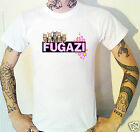 Fugazi kittens and flowers T-shirt Funny Ironic Punk post-hardcore art punk USA