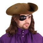 Leather Pirate Eye Patch, Left or Right Eye