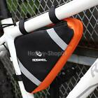 Roswheel Cycling Triangle Bag Bicycle Front Tube Frame Pack Outdoor Bike Pouch
