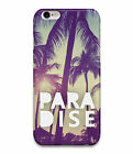 disguised Paradise Palm Trees Summer Sun Island Phone Case Cover - All Models