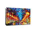 Bright Sky Stretched Canvas Print Framed Wall Art Home Decor Abstract Painting