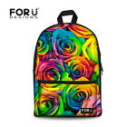 Women's Travel Floral Backpack Rucksack Bag School Bag Girl Shoulder Bag Bookbag