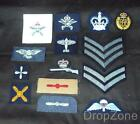 Raf Royal Air Force Trade, Rank, Cap, Qualification Badges, Patches Assorted Atc