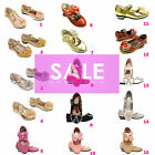 Girls kids Children CLEARANCE wedding Bridesmaid Party Shoes Sandals Size 12-3