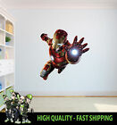 PRINTED WALL ART WALL IRON MAN THE AVENGERS GRAPHIC STICKER DECAL