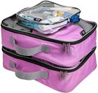 Set of 3 Luggage Packing Cubes Suitcase Organiser Travel Tidy Storage Case Bag