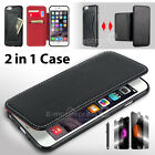 New Luxury PU Leather Ultra-thin with Card Pocket Case Cover For Apple iPhone