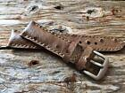 EXOTIC ostrich  HANDMADE  WATCH STRAP