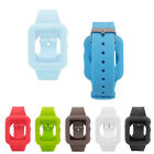 Buckle Wrist Watch Strap, Silicon Band Watchband for Apple 38 42mm iWatch