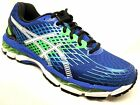 Asics Gel-Nimbus 17 Running Shoes Mens Royal/White/Flash Green