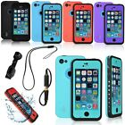 Waterproof Shockproof Dust / Snow Proof Protective Case Cover For iPhone 5C NEW
