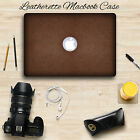 LEATHER Hard Case For MacBook Air 13 A1466 A1369 Shell Cover Leatherette