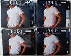 3 PACK POLO RALPH LAUREN CREW NECKS T-SHIRT CLASSIC 100% COTTON S M L XL 2XL image