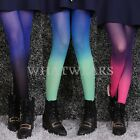Sexy Fashion Womens Cute Gradient Print Pantyhose Tights Stockings FKS