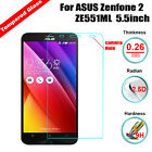 Premium Tempered Glass LCD Screen Protector Film for Asus Zenfone 2 ZE551ML 5.5""